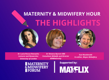 THE HIGHLIGHTS: Changing Times - Supporting Women's Choices