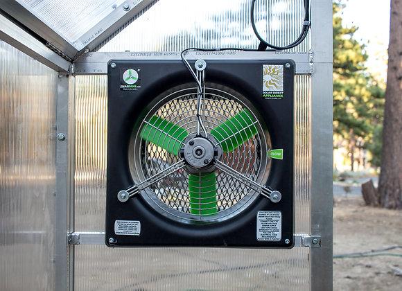 "16"" Solar Fan w/ Solar Panel & Thermostat"