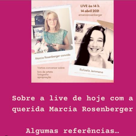 Live com a Marcia Rosenberg