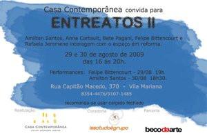 CONVITE EXPOSIÇÃO ENTREATOS II