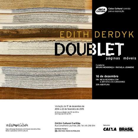 Doublet: páginas móveis - Edith Derdyk