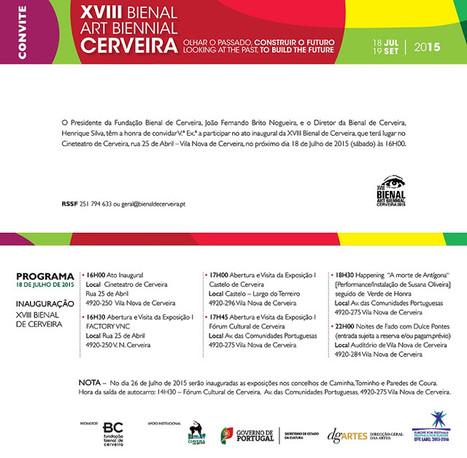 XVIII Bienal de Cerveira 2015