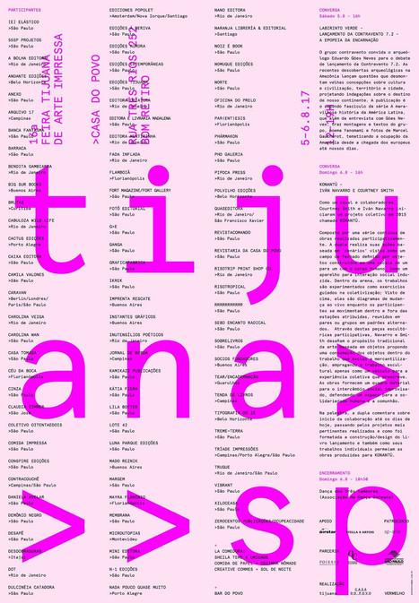 16ª Feira Tijuana - Casa do Povo