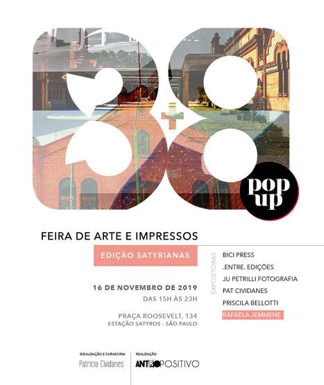 FEIRA DE ARTES E IMPRESSOS 3+8 POP UP