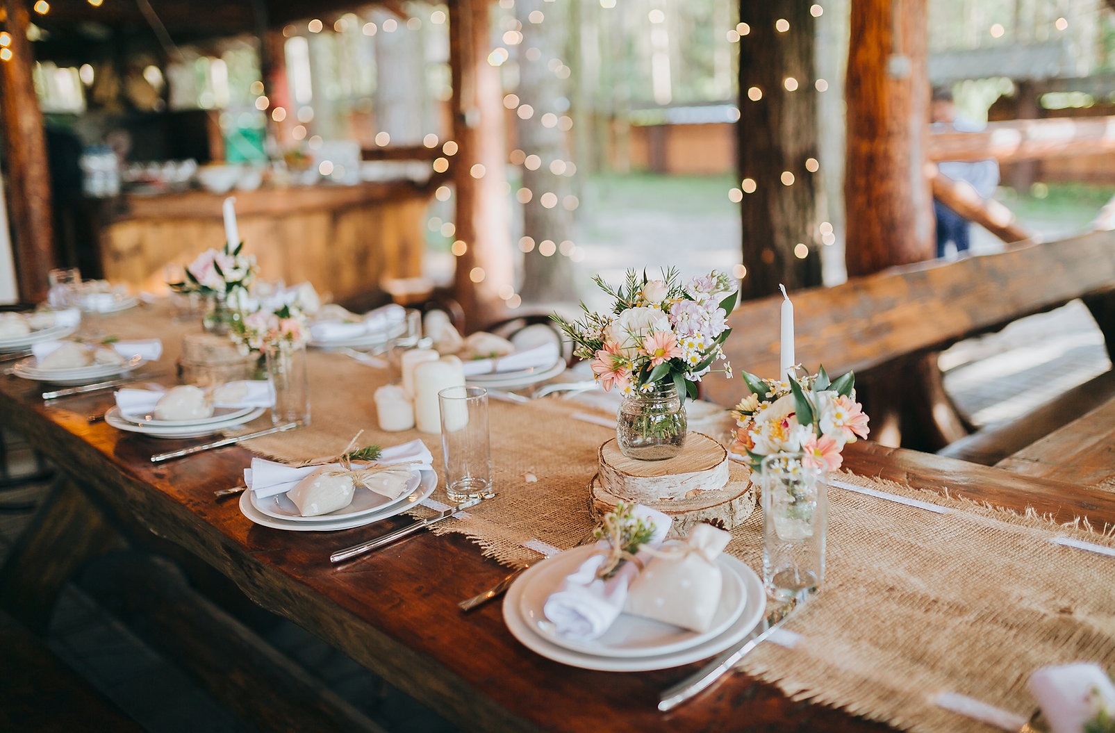 Présentation d'une tble cérémonie de mariage