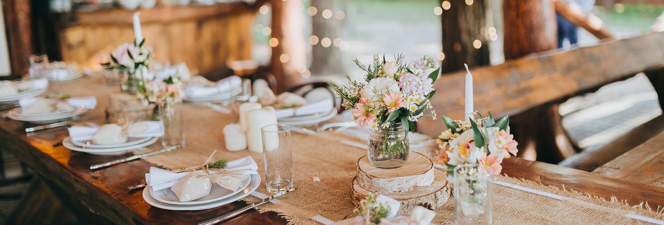 Rustic Table Arrangement