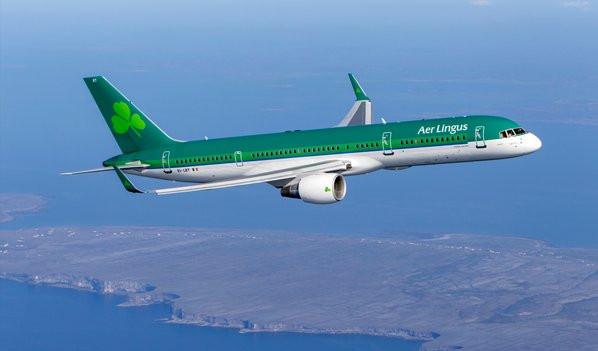 Gustav on Aer Lingus