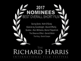 'Gustav' nominated for three awards at Richard Harris International Film Festival