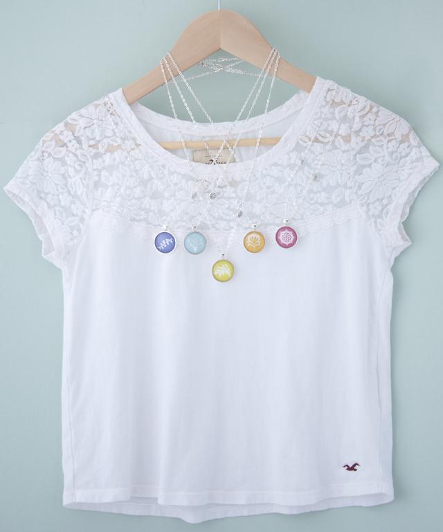 art necklaces