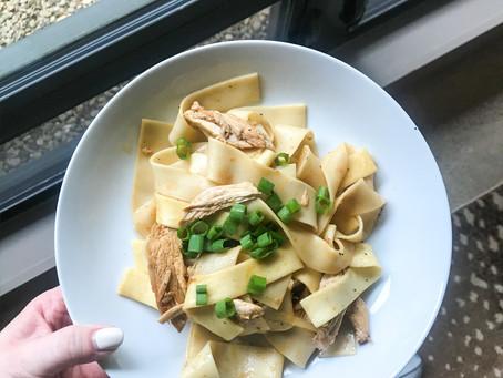 Recipe: Garlic, Sesame Noodles w/ Chicken