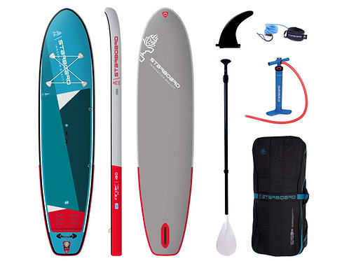 "2021 Starboard Inflatable iGo Zen  11'2""""x31"" SC w/ Paddle"