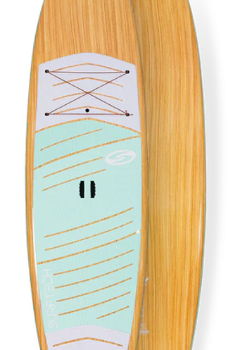 """2021 Surftech Lido Package 10'6""""x32"""" Utility Armour Wood/Teal"""