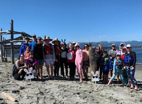 1st Annual Paddle Board Easter egg Hunt