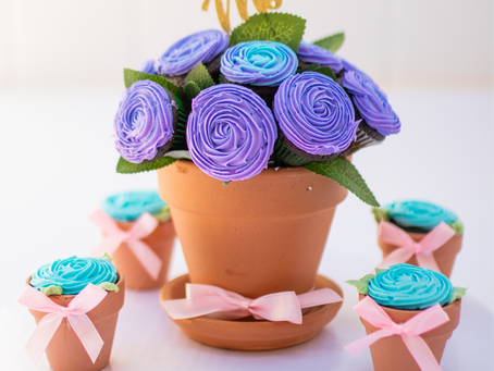 Mother's Day Activity | Flower Pot Cupcake Instructions