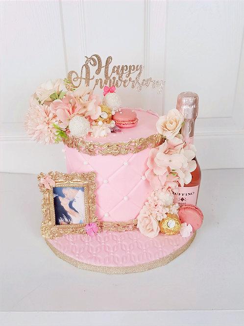 Anniversary Cake Tufted