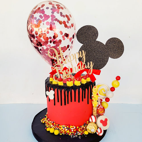 Mouse Birthday Cake