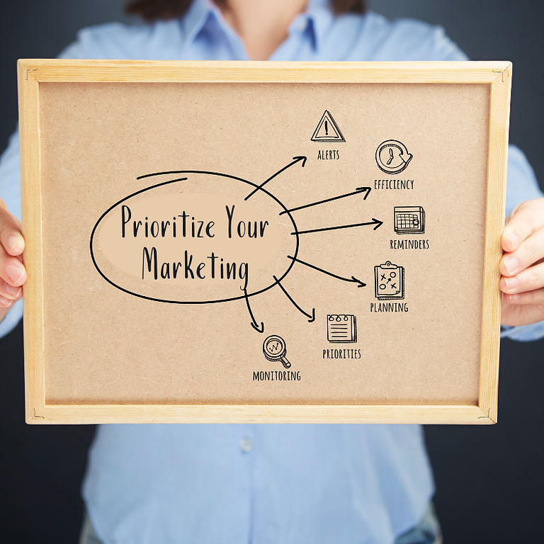 Prioritize Your Marketing