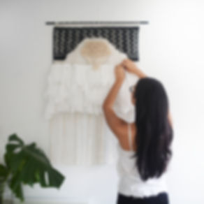 Laine Toia - Bespoke Weaving