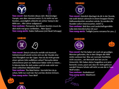 Halloween Horoskop