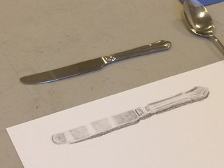 Contemporary Realistic Drawing Objects of reflectivity