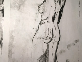 Drink and Draw March Gallery