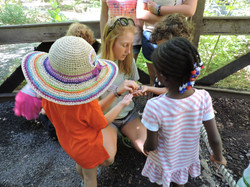 teaching moment - Mary butterflies - 4-6 camps