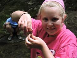 crayfish closeup - 8-9 camps
