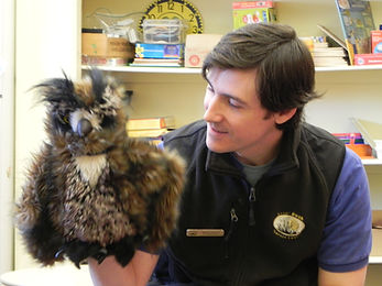 Mark with owl puppet (2).JPG