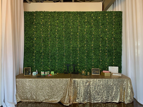 Fairy Lights Feature Wall