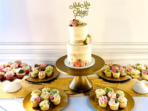 White Porcelain Cake/Cupcake Stands