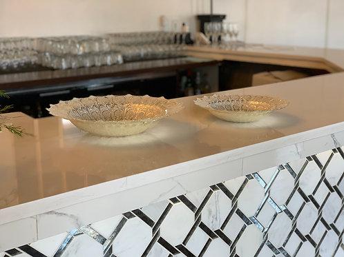 Ornate Silver Bowl Displays