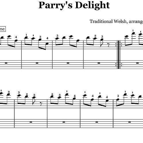 Parry's Delight - downloadable PDF