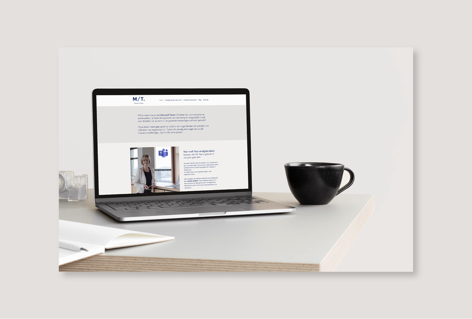 Matter of Talent  | Website en huisstijl
