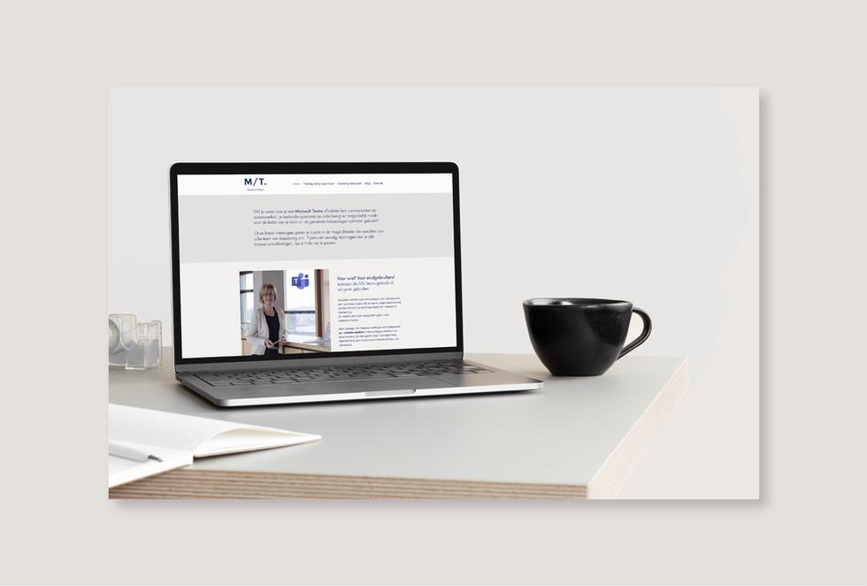 Matter of Talent  _ Website en huisstijl