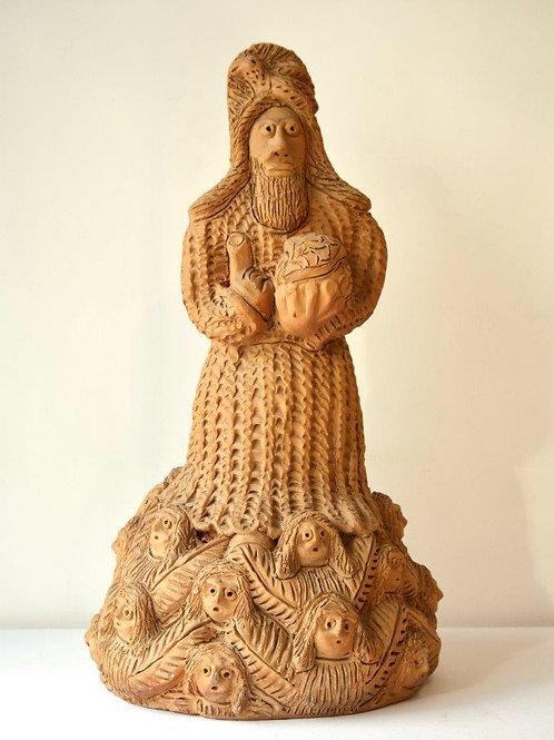 Escultura Poteiro