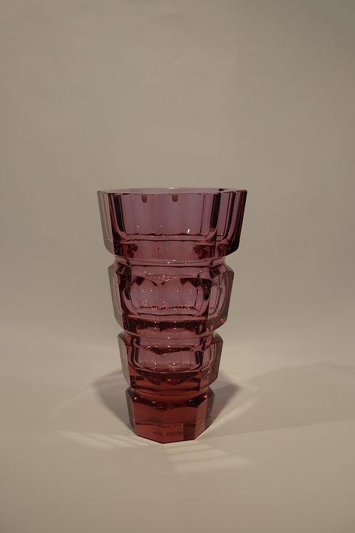 Vaso Cristal da Bohemia