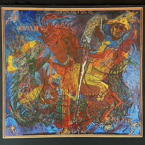 """""""São Jorge"""", OST por Rinaldo Silva"""