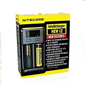 Nitecore i2 2 bay Charger