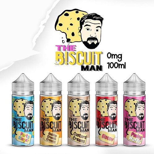 The Biscuit Man 120ml Shortfill