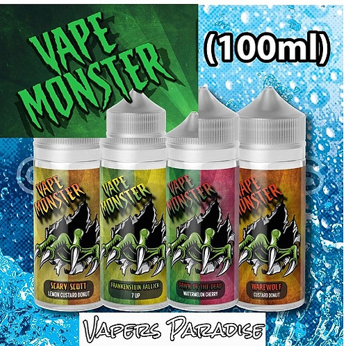 Vape Monster 120ml Shortfill
