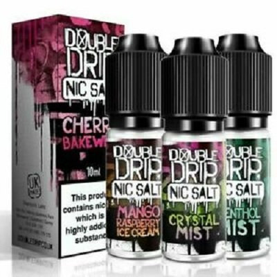 Double Drip Nic Salts 20mg