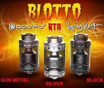 Dovpo Blotto RTA with Bubble Glass