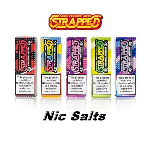 Strapped Nic Salts 20mg