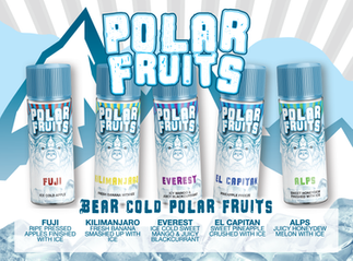 Polar Fruits 120ml Shortfill