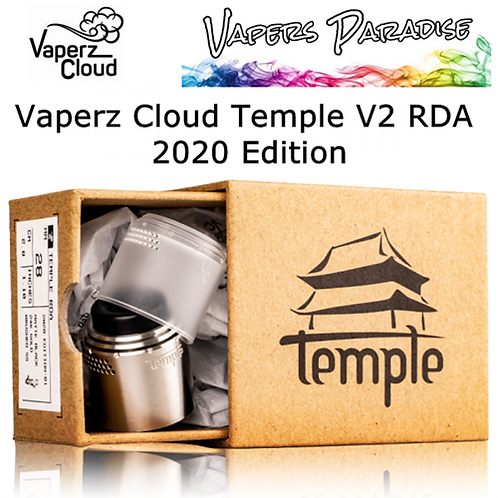 Vaperz Cloud Temple RDA 25mm 2020 Edition