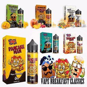 Vape Breakfast Classics 120ml Shortfill