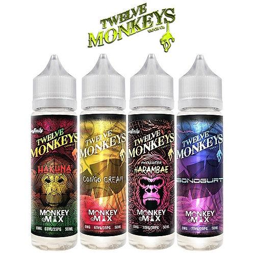 Twelve Monkeys 60ml Shortfill
