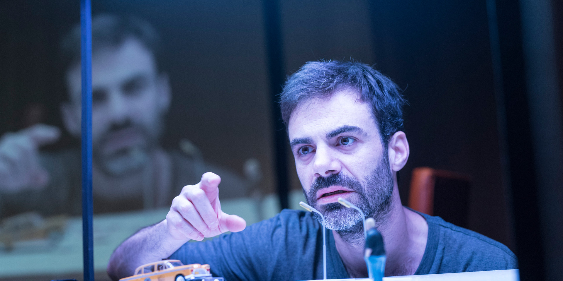 La Caja Flotante, Catástrofe de Antonio Rojano