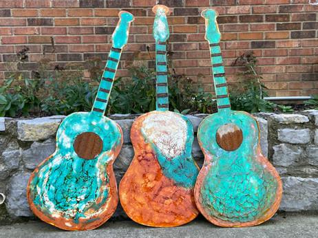encaustic wax guitars