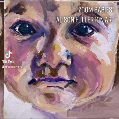 Zoom Baby Portraits